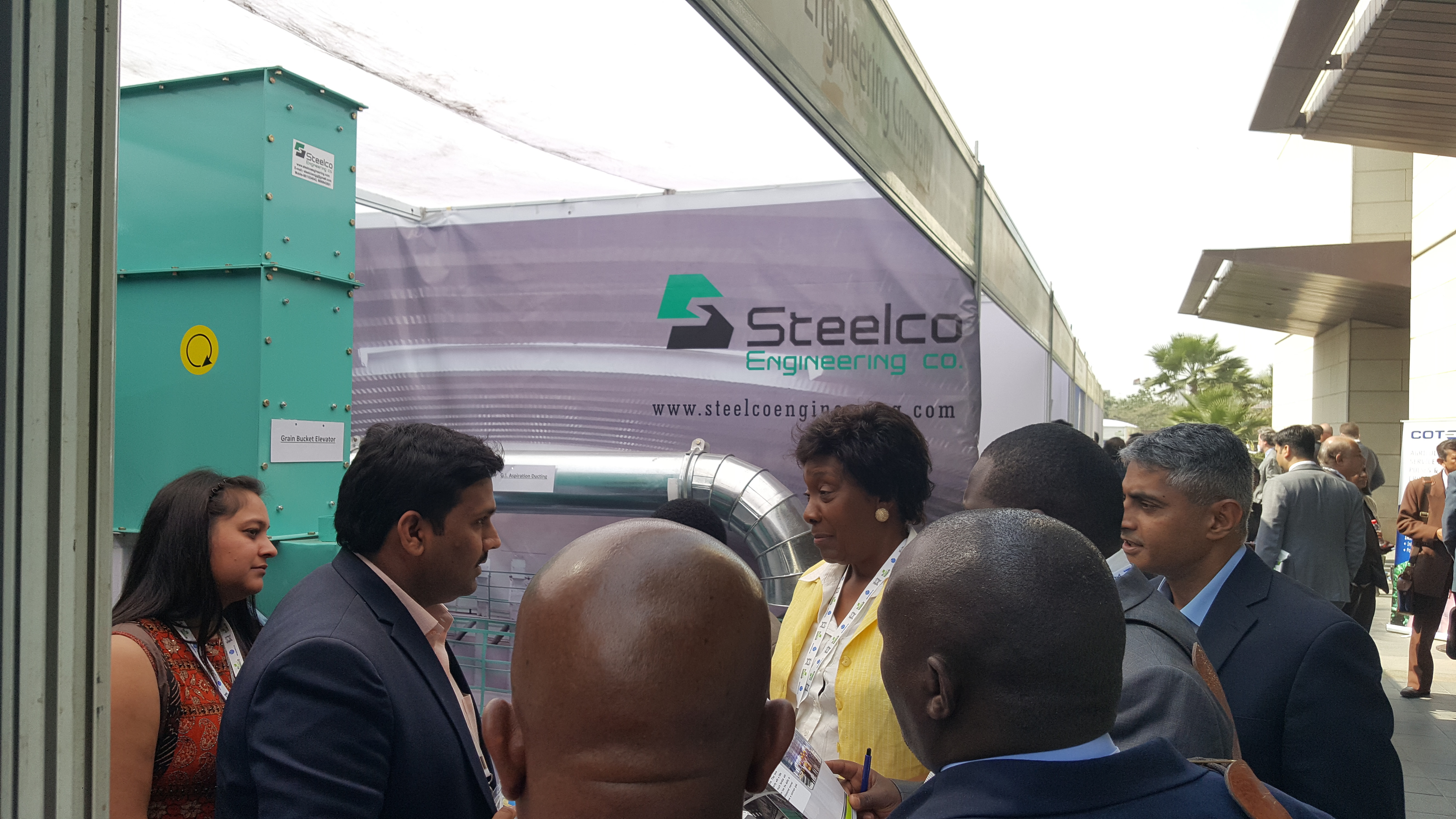 Kenya Governor visited our Stall During IPGA-2018