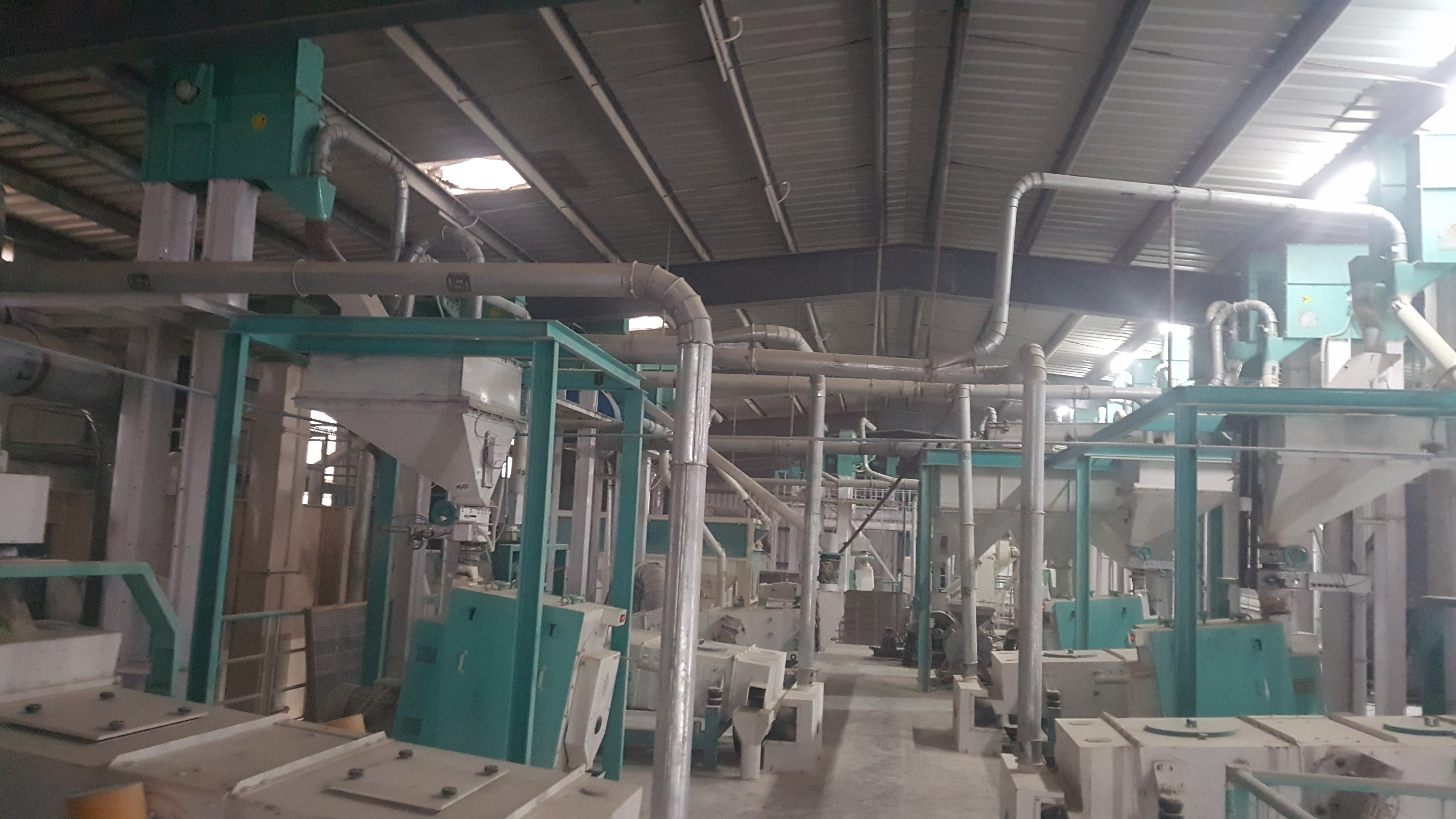 Our installed Chana Dal Plant at Rai.
