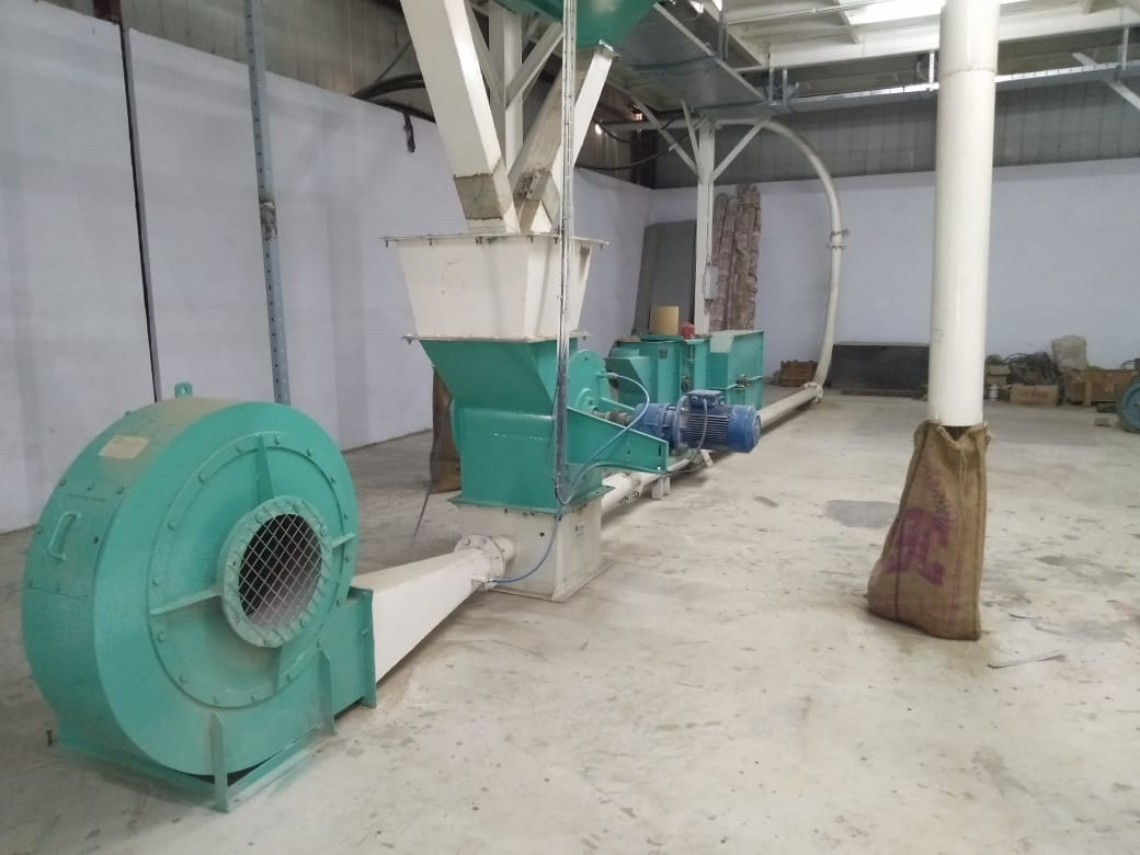 Husk Conveying System